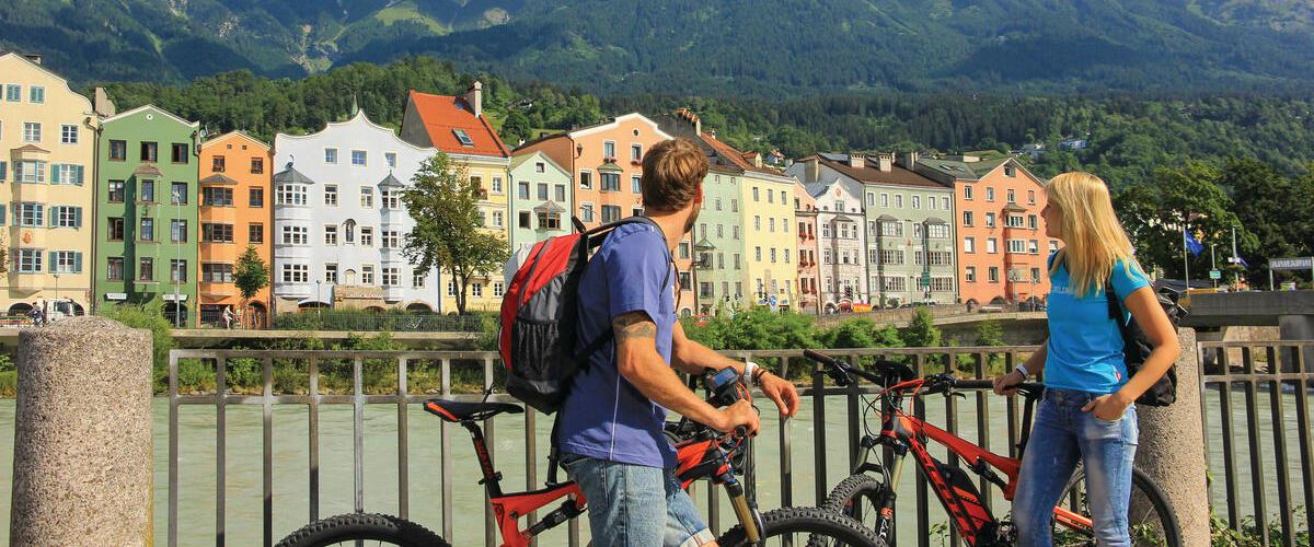 Innsbruck en vélo électrique