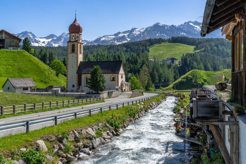 Oetztal Tyrol