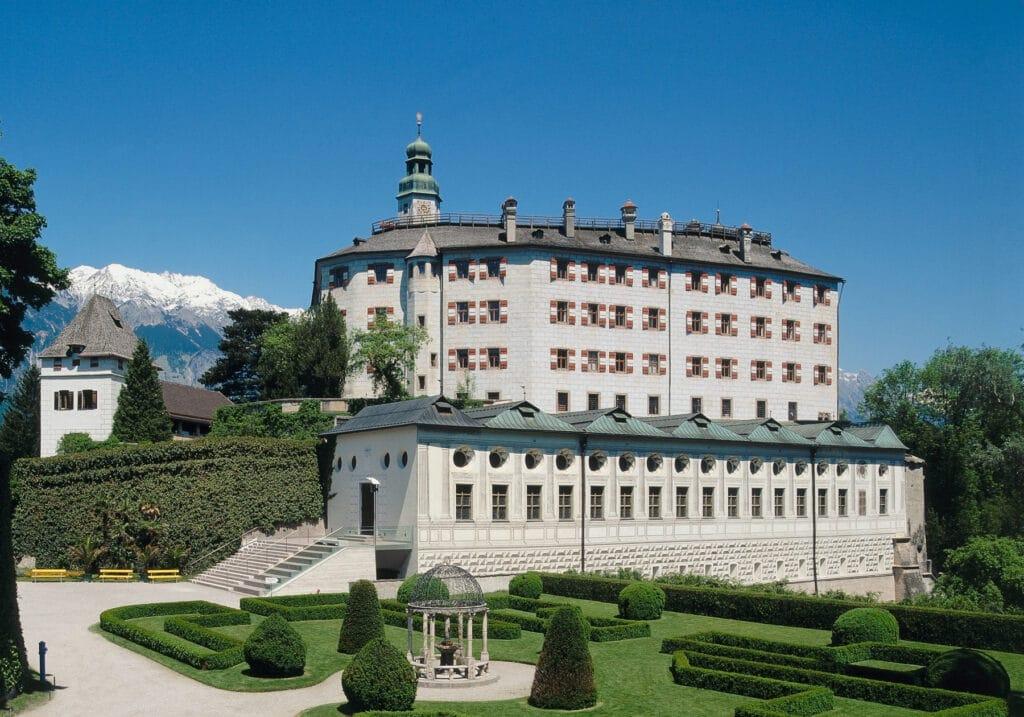 Guided tour castle Ambras Innsbruck