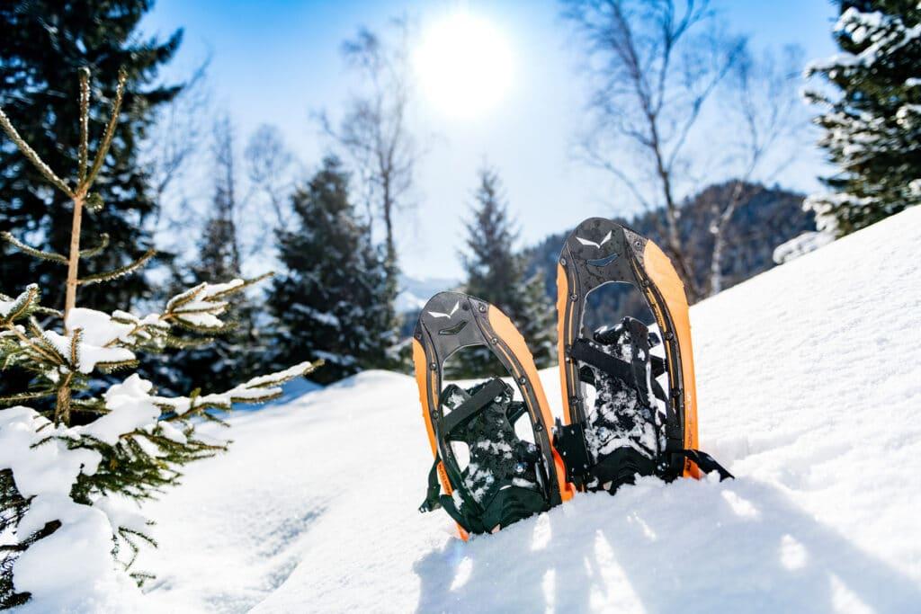 hiking winter Tyrol
