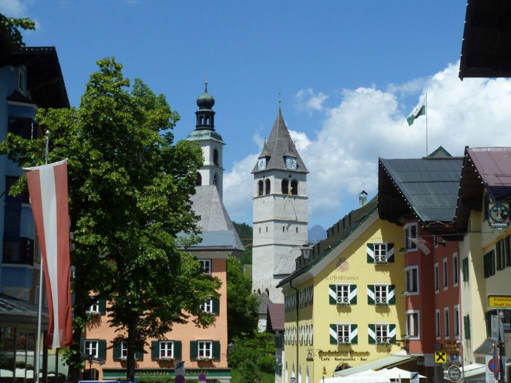 Kitzbühel - Old town - guide